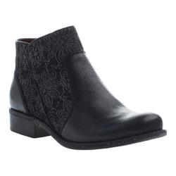 Women's OTBT Dare Devil Ankle Boot Black Leather/Textile