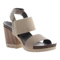 Women's OTBT Duty Free Sandal Stone Leather/Textile