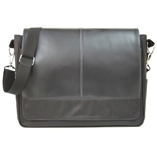 Royce Leather Genuine Leather Laptop Messenger Bag