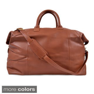 Royce Leather 'Hanson' Weekender Duffel Bag