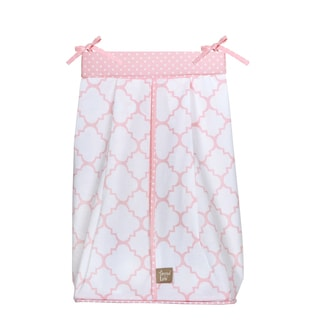 Trend Lab Pink Sky Diaper Stacker