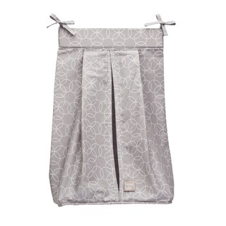 Trend Lab Circles Gray Diaper Stacker