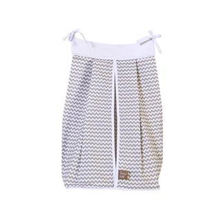 Trend Lab Dove Gray Chevron Diaper Stacker