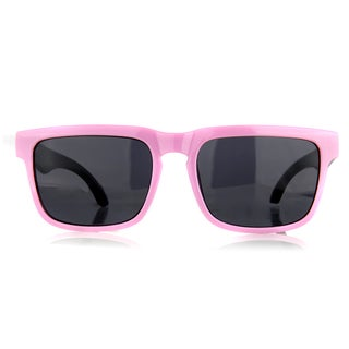 Crummy Bunny Little Girl's Pink and Black Designer Style Sunglasses