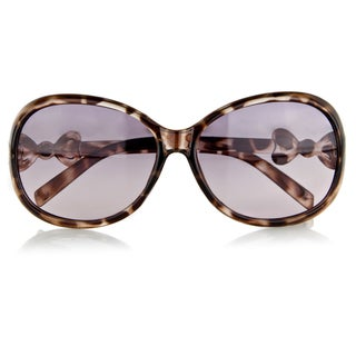 Crummy Bunny Little Girl's Fashion Sunglasses with Bow (Option: Brown)