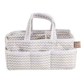Trend Lab Dove Gray Chevron Storage Caddy|https://ak1.ostkcdn.com/images/products/10100134/P17241372.jpg?impolicy=medium