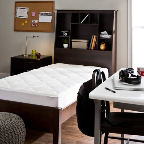 Spa Luxe Rayon from Bamboo Blend Dorm Ready Twin XL Luxury Mattress Pad