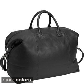 Royce Leather  'Morris' Carry All Overnight Carry On Duffel Bag