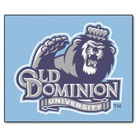 Fanmats Machine-Made Old Dominion University Blue Nylon Tailgater Mat (5' x 6')