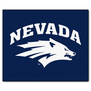 Fanmats Machine-Made University of Nevada Blue Nylon Tailgater Mat (5' x 6')