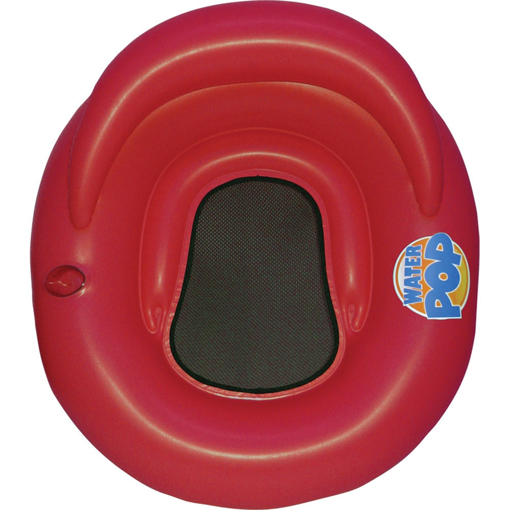 Poolmaster Water Pop Lounge (1 Red Water Pop Lounger)
