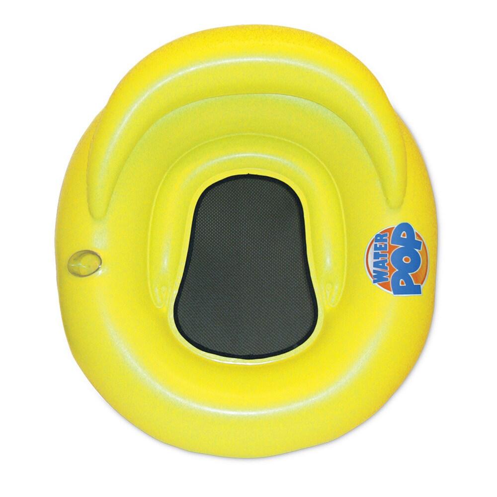 Poolmaster Water Pop Lounge (1 Yellow Water Pop Lounger)