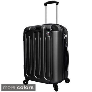 Mia Toro ITALY Regale 20-inch Lightweight Hardside Expandable Spinner Carry On Suitcase