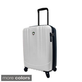 Mia Toro ITALY Polipropilene 20-inch Lightweight Hardside Expandable Carry On Spinner Suitcase