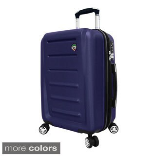 Mia Toro ITALY Moderno 24-inch Hardside Expandable Spinner Upright Suitcase