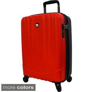 Mia Toro ITALY Polipropilene 24-inch Hardside Expandable Spinner Suitcase
