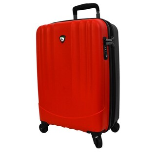 Mia Toro ITALY Polipropilene 28-inch Hardside Expandable Spinner Suitcase (Option: Red)
