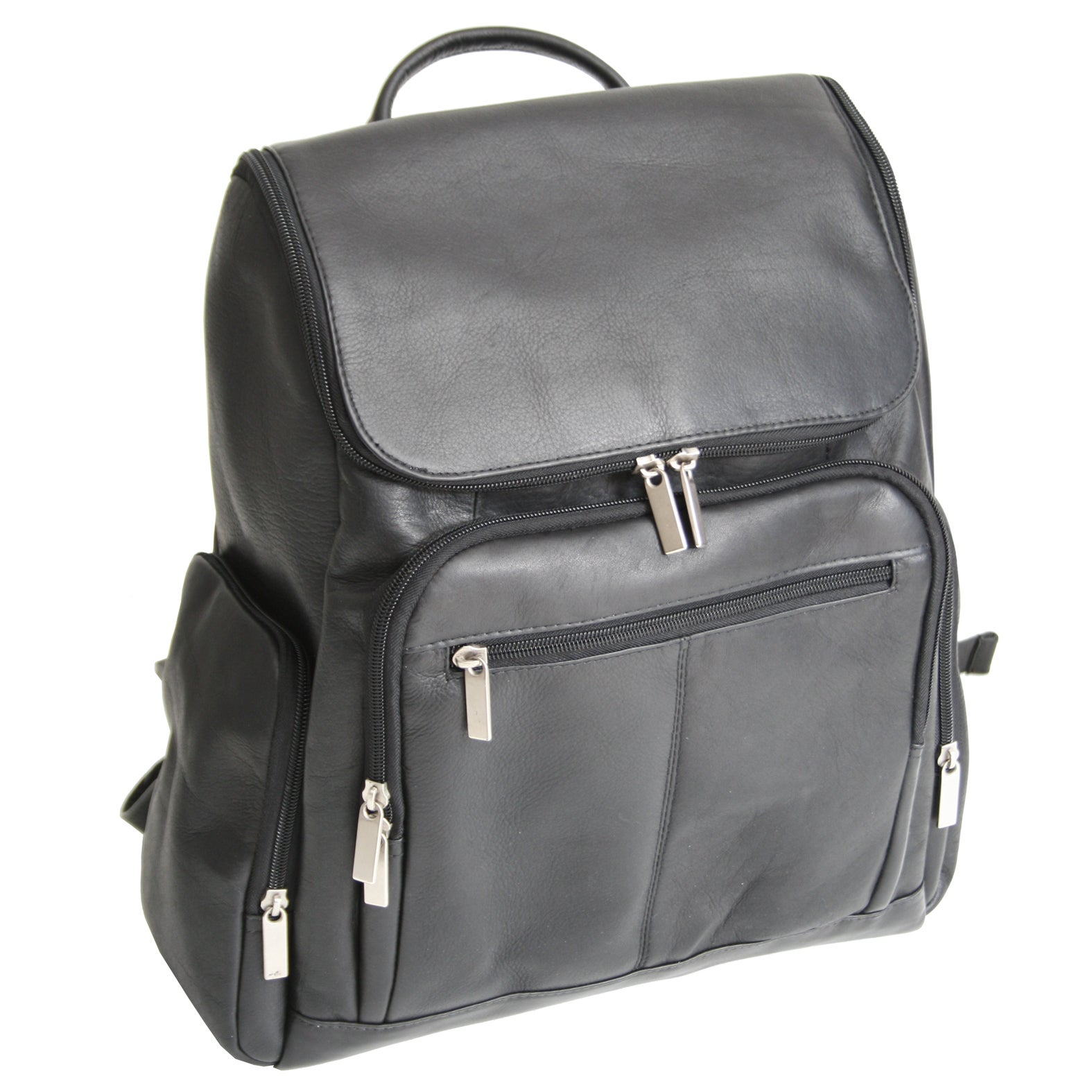 Royce Leather Colombian Vaquetta Cowhide Laptop Backpack ...