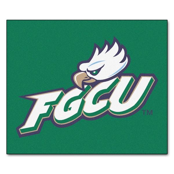 Fanmats Machine-Made Florida Gulf Coast University Green Nylon Tailgater Mat (5' x 6')