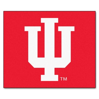 Fanmats Machine-Made Indiana University Red Nylon Tailgater Mat (5' x 6')