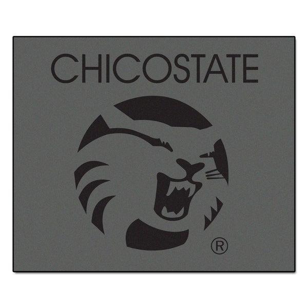 Fanmats Machine-Made Cal State-Chico Grey Nylon Tailgater Mat (5' x 6')