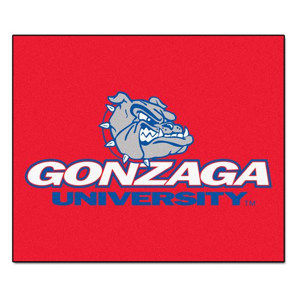 Fanmats Machine-Made Gonzaga University Red Nylon Tailgater Mat (5' x 6')