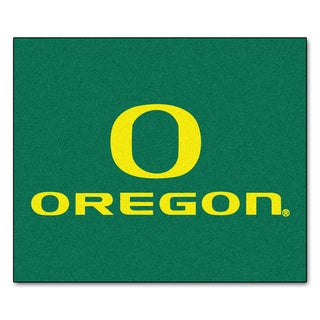 Fanmats Machine-Made University of Oregon Green Nylon Tailgater Mat (5' x 6')