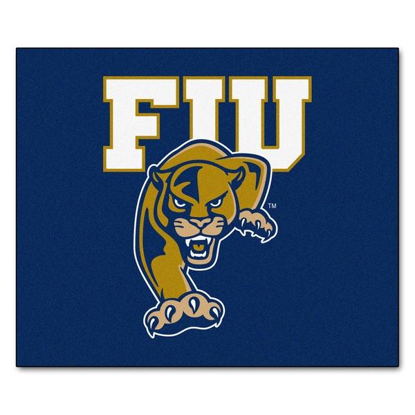 Fanmats Machine-Made Florida International University Blue Nylon Tailgater Mat (5' x 6')