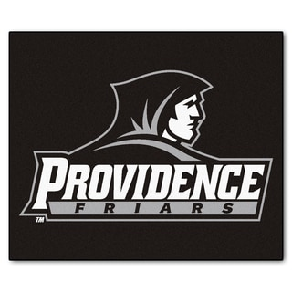 Fanmats Machine-Made Providence College Black Nylon Tailgater Mat (5' x 6')