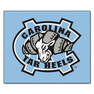 Fanmats Machine-Made University of North Carolina-Chapel Hill Blue Nylon Tailgater Mat (5' x 6')