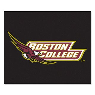Fanmats Machine-Made Boston College Black Nylon Tailgater Mat (5' x 6')