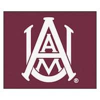 Fanmats Machine-Made Alabama A&M University Burgundy Nylon Tailgater Mat (5' x 6')