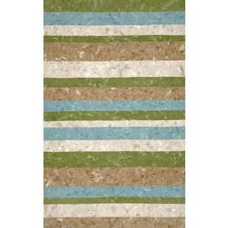 Stripe Outdoor Rug (5'X8')