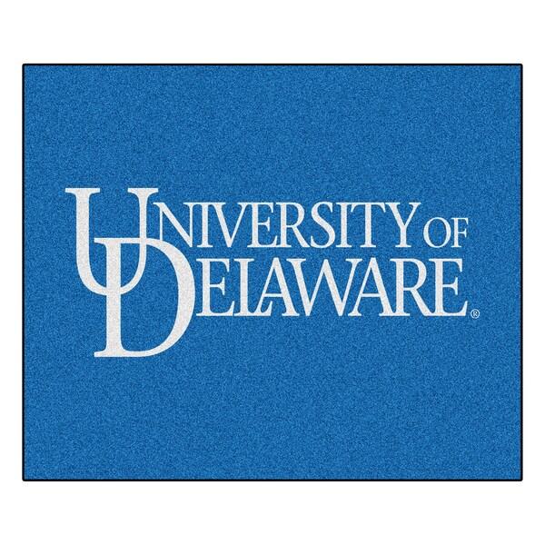 Fanmats Machine-Made University of Delaware Blue Nylon Tailgater Mat (5' x 6')