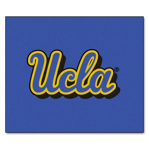 Fanmats Machine-Made UCLA Blue Nylon Tailgater Mat (5' x 6')