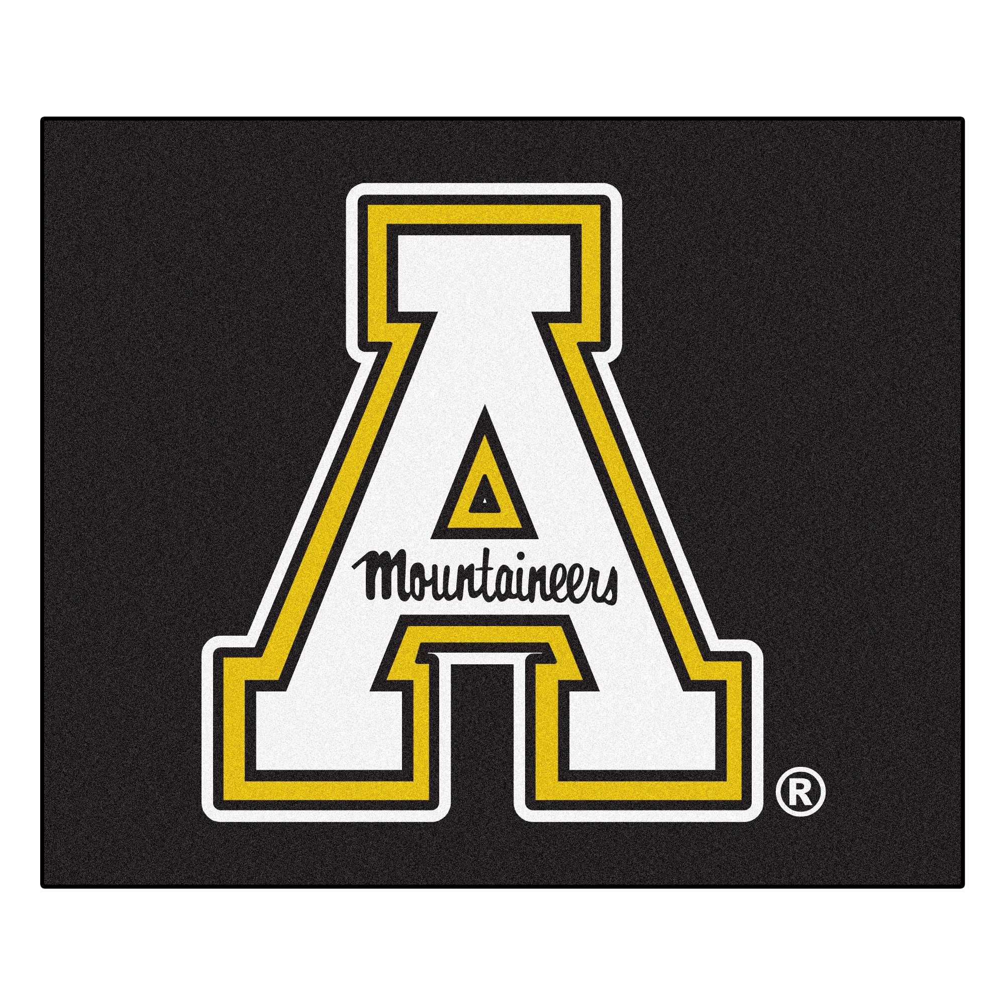 Fan Mats Machine-Made Appalachian State University Black ...