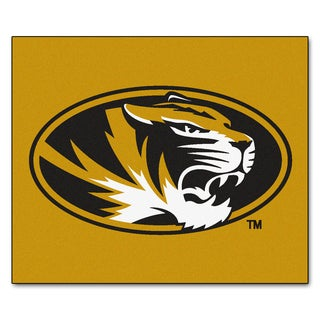 Fanmats Machine-Made University of Missouri Gold Nylon Tailgater Mat (5' x 6')