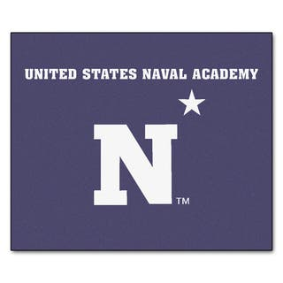 Fanmats Machine-Made US Naval Academy Blue Nylon Tailgater Mat (5' x 6') https://ak1.ostkcdn.com/images/products/10100725/P17241883.jpg?impolicy=medium