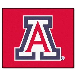 Fanmats Machine-Made University of Arizona Red Nylon Tailgater Mat (5' x 6')