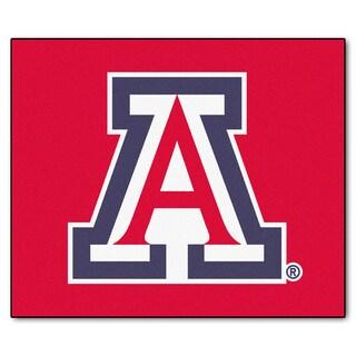 Fanmats Machine-Made University of Arizona Red Nylon Tailgater Mat (5' x 6')
