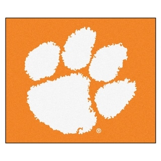 Fanmats Machine-Made Clemson University Orange Nylon Tailgater Mat (5' x 6')