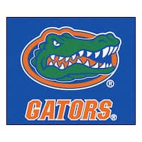 Fanmats Machine-Made University of Florida Blue Nylon Tailgater Mat (5' x 6')