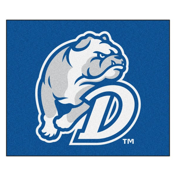 Fanmats Machine-Made Drake University Blue Nylon Tailgater Mat (5' x 6')