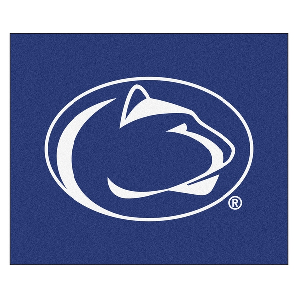 Fanmats Machine-Made Penn State Blue Nylon Tailgater Mat (5' x 6'). Opens flyout.