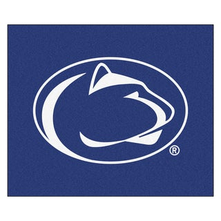Fanmats Machine-Made Penn State Blue Nylon Tailgater Mat (5' x 6')
