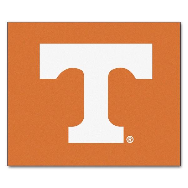 Fanmats Machine-Made University of Tennessee Orange Nylon Tailgater Mat (5' x 6')