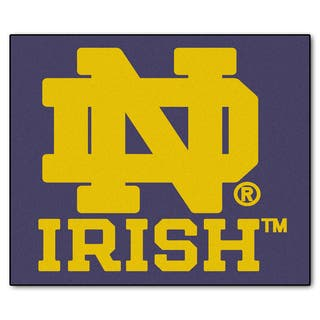 Fanmats Machine-Made Notre Dame Blue Nylon Tailgater Mat (5' x 6')|https://ak1.ostkcdn.com/images/products/10100762/P17241919.jpg?impolicy=medium
