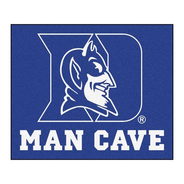 Fanmats Machine-Made Duke University Blue Nylon Man Cave Tailgater Mat (5' x 6')