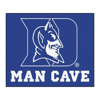 Fanmats Machine-Made Duke University Blue Nylon Man Cave Tailgater Mat (5' x 6')|https://ak1.ostkcdn.com/images/products/10100781/P17241964.jpg?impolicy=medium