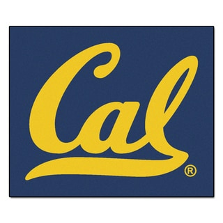 Fanmats Machine-Made University of California-Berkeley Blue Nylon Tailgater Mat (5' x 6')